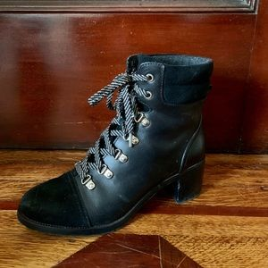 Sam Edelman Suede & Leather All-Weather Boots